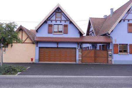 "Le ""gîte bleu"", proche d'Obernai - Alsace - Flat"