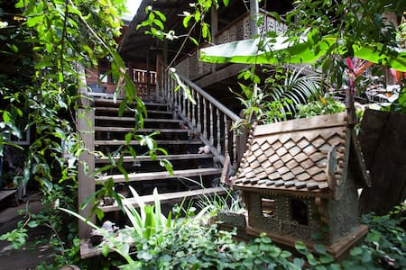 Tiptopthai House, rooms with balcony - Si Phum - Guesthouse