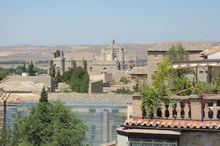 Fantástico Torreón con vistas  a Toledo. - Toledo - Osakehuoneisto