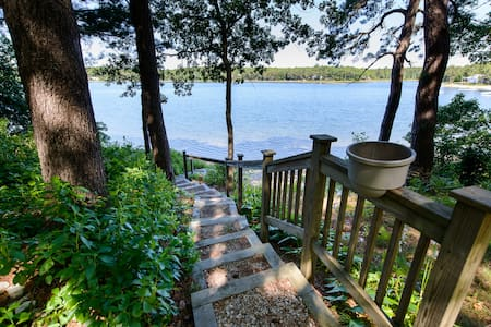 Spacious 2 Bedroom Lakefront Suite - Sandwich - Appartement