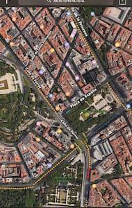 Plaza España compartido - Appartamento