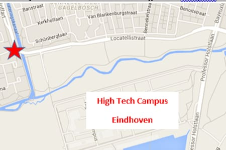 Studio next to High Tech Campus Eindhoven - Eindhoven - Guesthouse
