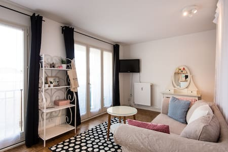 Cosy little flat at 5min from downtown - Apartament