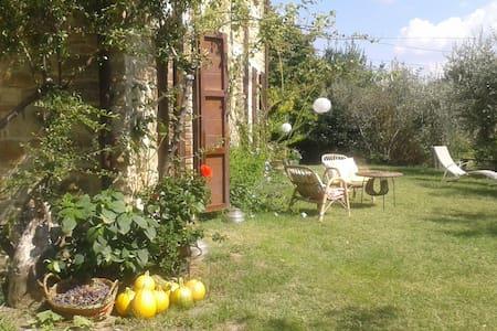 casa in pietra +giardino e orto bio - Rotella