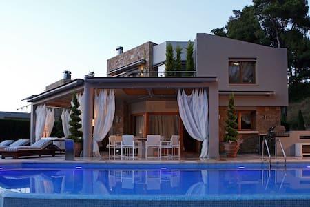 Luxury Villa Sani A - Villa