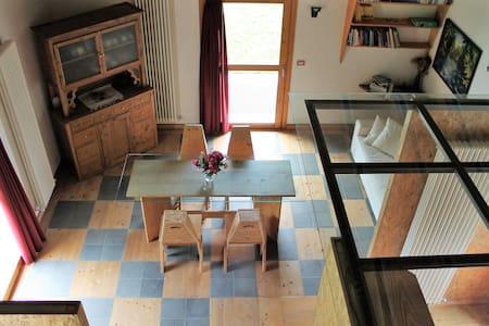 """""""La casa dell'asino"""" modern vineyard villa - Montagna In Valtellina - Hus"""