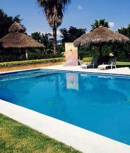 Casa ideal, fines de semana, puentes y vacaciones - Xochitepec - Maison