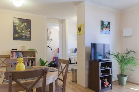 Cosy double room plus brekkie - Apartament