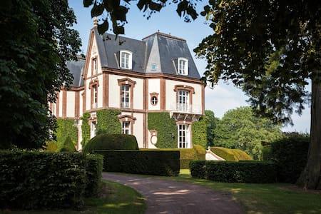 Chambre de Jade BNB Château - Bouelles