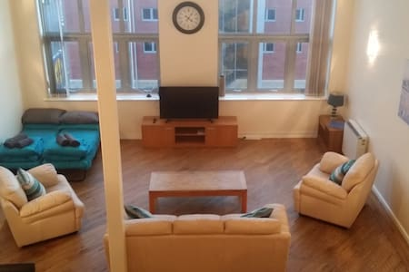Duplex Apartment in Centenary Mill - Preston - Huoneisto