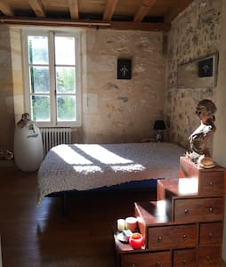 Chambre avec vue sur fleuve / Estey - Langoiran - Ev