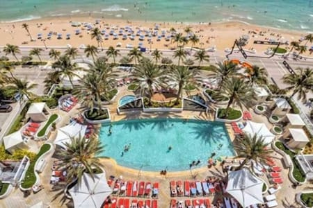 REDUCED! Stunning Oceanview Hotel Suite 652 Sq Ft - Fort Lauderdale - Appartamento