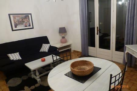 Appartement 2 p+cuisine en rez de jardin - Daire