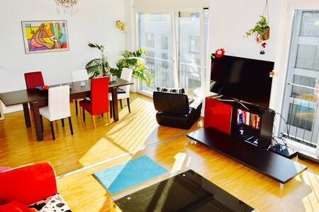 ❤ Centrally Situated Roof-Top Modern ☘ Cosy Flat ☺ - Zurych - Apartament
