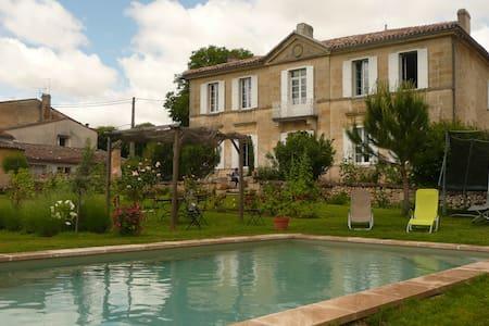 Entre St Emilion et Bordeaux - Saint-Germain-du-Puch - Bed & Breakfast