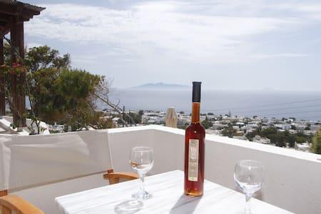 Panoramic Sea View - Double Bed 2 - Kamari - Wikt i opierunek