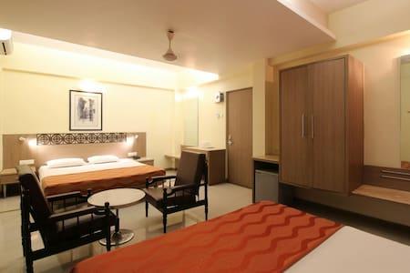 AC Superior Quad Room attach bath/WC for 4 person - Bombay