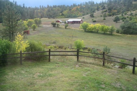 Mountain Home on 45 acres next to National Forest - Pagosa Springs - Cabin