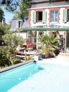 Maison de charme 1900, calme et ensoleillée. - Cabourg - Townhouse