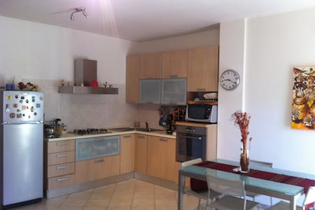 lovely and cozy apartment hinterland Cagliari - Huoneisto