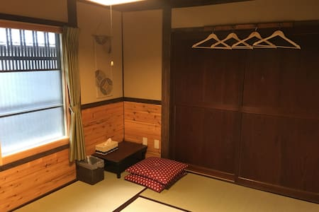 Yanagiya at castle town:private room, 6 tatami - Ena-shi - Casa