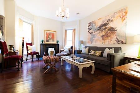 Sunny Victorian APT in Old Louisville w/ Park View - Louisville - Apartment