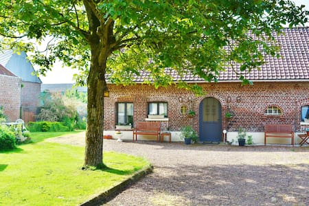 B&B family room 5, WW1 battlefields - Courcelles-au-Bois - Aamiaismajoitus