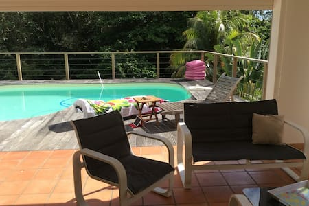 Studio avec piscine privative . - Flat