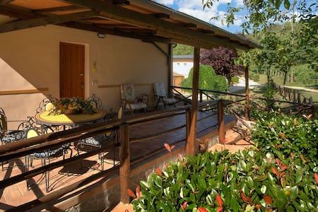 Casa con terrazzo in Agriturismo. Piscina WiFi - House