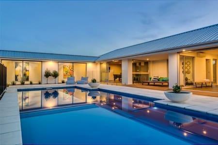 Glenloch B&B 乡村·独立别墅 with Pool View - Ohoka - House