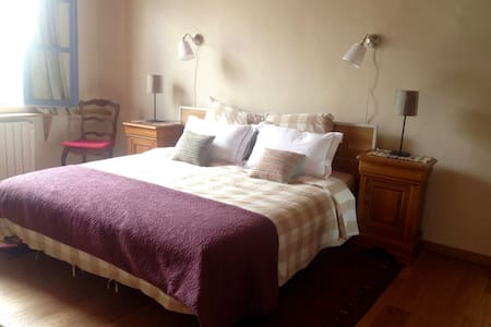 'Elelta' B&B in Najac, Room 1 - Bed & Breakfast