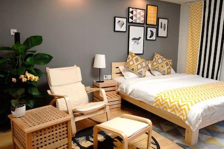 春熙路太古里附近挪威的森林主题大床房 - Apartemen