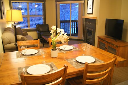 2 Br on ski slopes 1000 Peaks Lodge - Panorama - Condominio