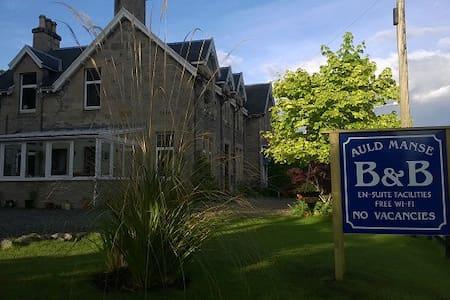 AULD MANSE BED & BREAKFAST, BRIDGE ROOM - Dulnain Bridge - Bed & Breakfast