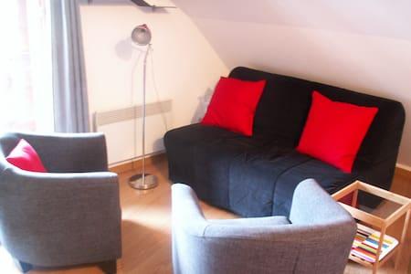 Appartement confortable avec vue sur la montagne - Condominium