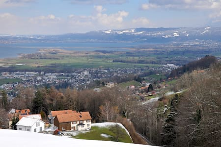 Ferienwohnung mit Bodenseeblick - Wolfhalden - Lägenhet