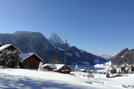 COSY CHALET WITH BEAUTIFUL VIEW IN HALTEN, GSTAAD - Chalet