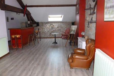 MAISON MEUBLEE DE 180 M2 prox ST VULBAS - Řadový dům