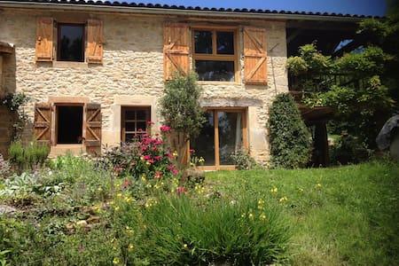 Maison en pierres à Saint-Antonin-Noble-Val - Saint-Antonin-Noble-Val