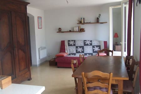 Beau T3 Saint-Lary Village 2 vraies chambres - Saint-Lary-Soulan - Wohnung