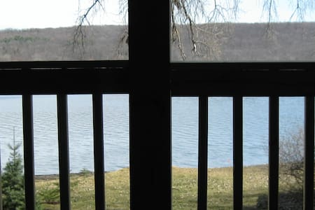 Conesus Lake private room & bath - Hus