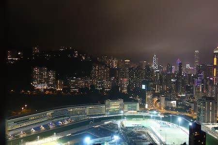 downtown,spacious,view,quiet,swimming pool - Hong Kong Island
