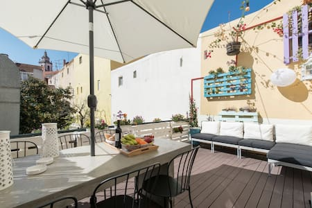 New ! Sweet Terrace Apartment - Byt