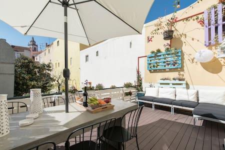 New ! Sweet Terrace Apartment - Lisboa - Apartamento