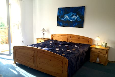 Nice Room w/Balcony near Rothenburg - Burgbernheim - Dom