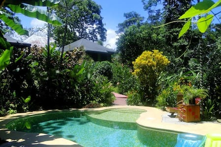 PHIDJIE LODGE-B&B-Ojochal-Palmera - Penzion (B&B)