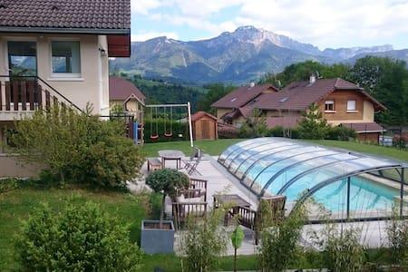 Maison avec piscine - 10min Annecy - 30min Geneve - Huis