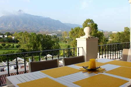 Great apartment at Aloha Gardens with amazing view - Marbella - Apartment