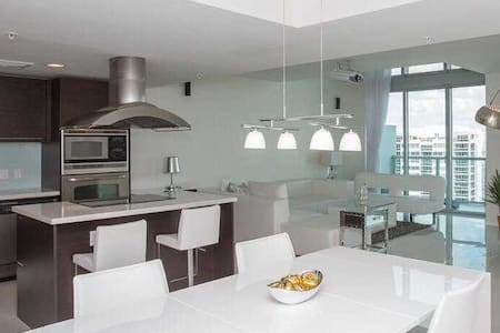 Modern & Luxurious Two Story Condo On the Water! - North Bay Village - Loft
