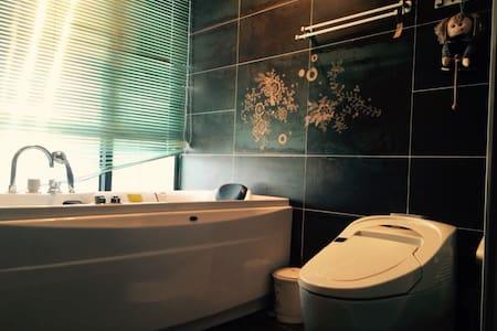 270度豪华江景房(主卧带独立卫生间),尽享重庆美丽夜景! - Chongqing - Apartamento